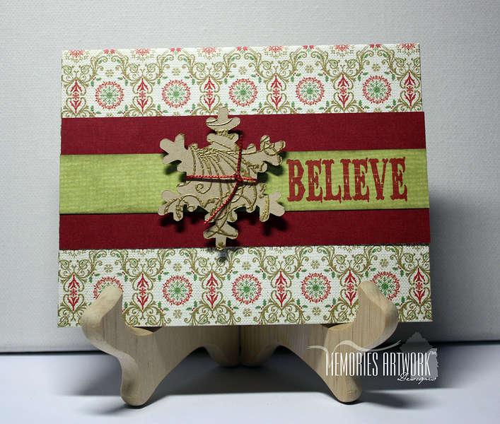 Xmas Card Believe