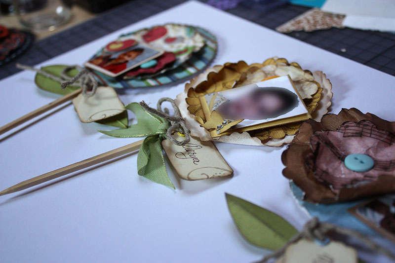 Photo flowers - Teacher gift