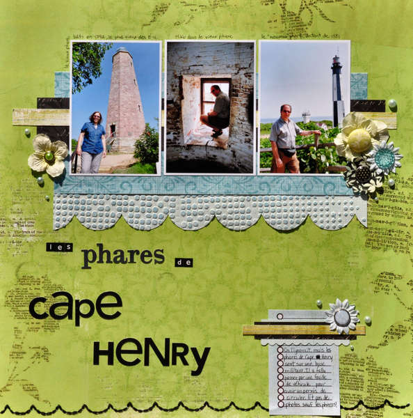 The Lighthouses of Cape Henry (Virginia)
