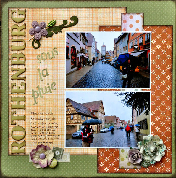 Rothenburg Under the Rain