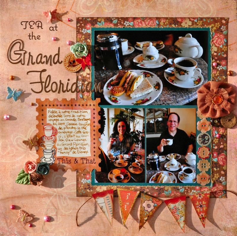 Tea at the Grand Floridian (Disney)