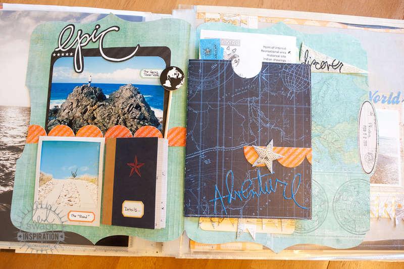 Using Heidi Swapp's Memory Files in a Traditional Album