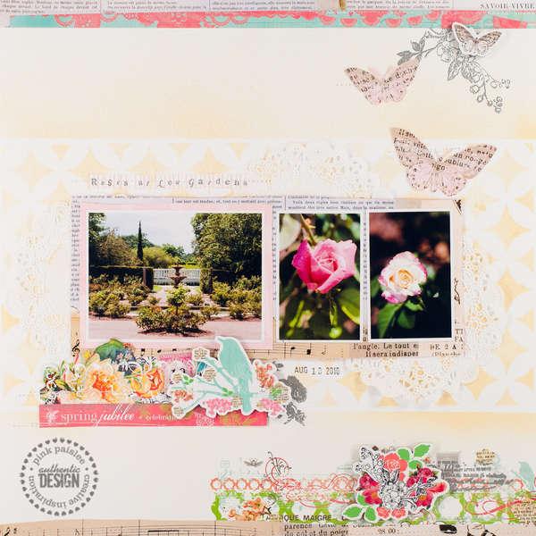 Roses at Leu Gardens
