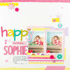 Happy 2nd Birthday Sophie