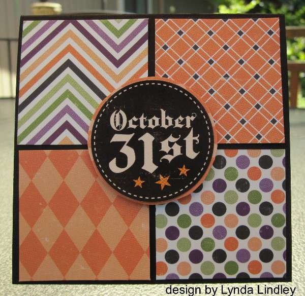 October 31st card by Lynda