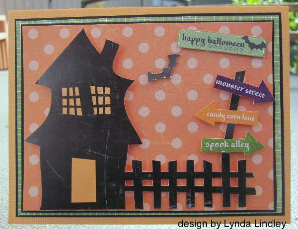 Happy halloween card by Lynda