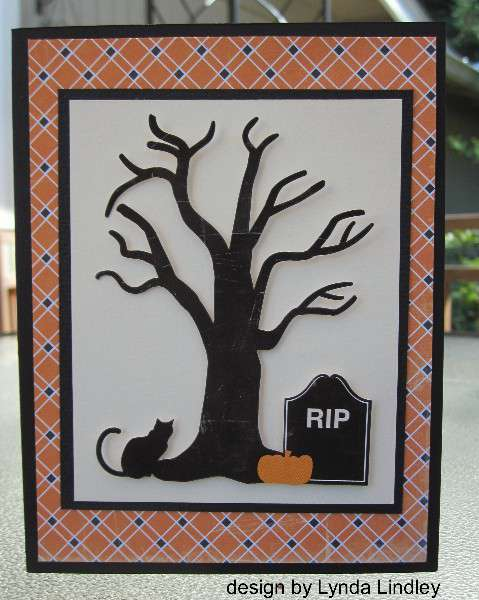 RIP card by Lynda