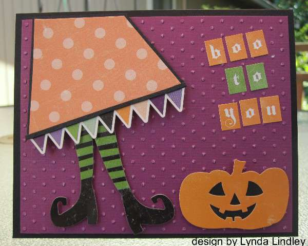 boo to you card by Lynda