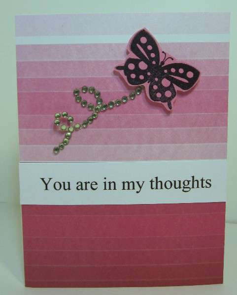 You are in my thoughts by Lynda