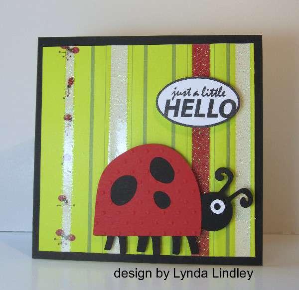 just a little hello by Lynda