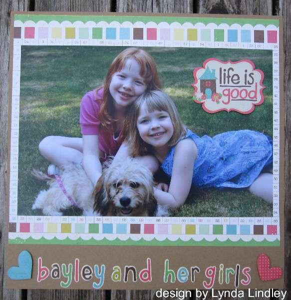 bayley and her girls by Lynda