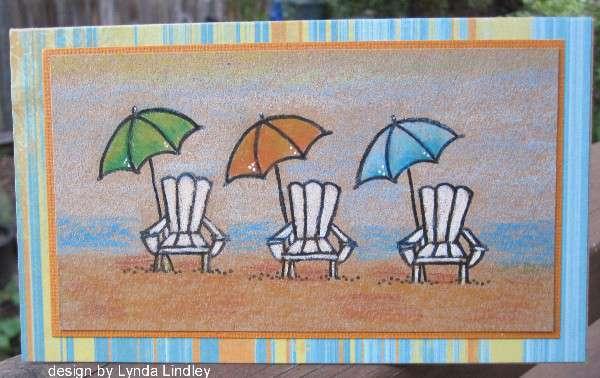 three chairs by Lynda