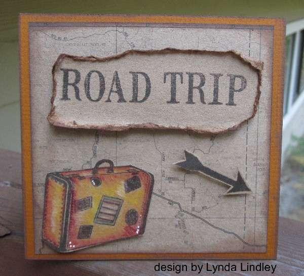 Road trip card by Lynda