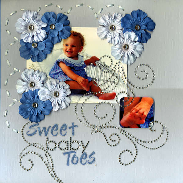 Sweet Baby Toes -- Top 5 June Bling Challenge