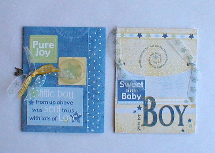 baby boy cards