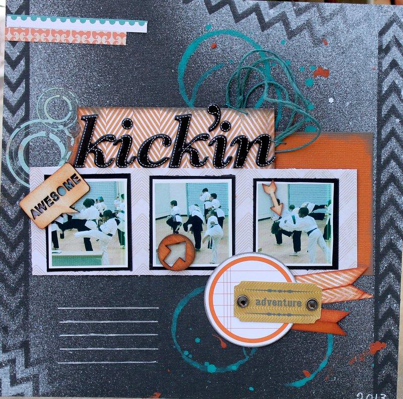 kickin' it!