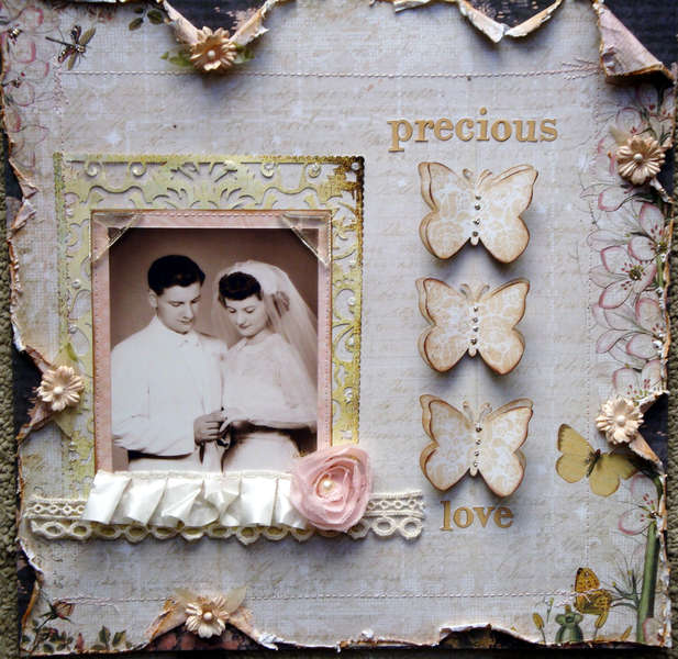 Vintage Wedding ~ The Rings