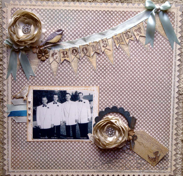 Vintage Wedding ~ the Groom's Men