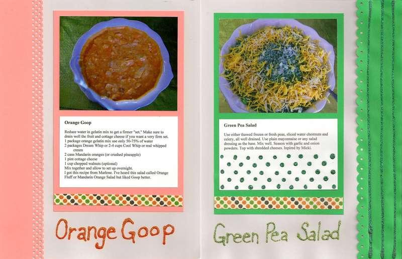 Orange Goop & Green Pea Salad