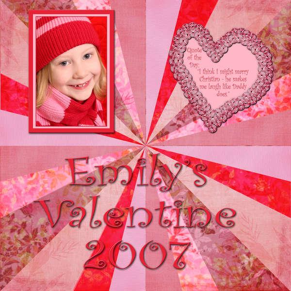 Emily's Valentine 2007