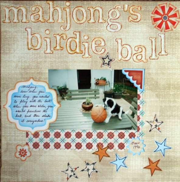 Mahjong's Birdie Ball