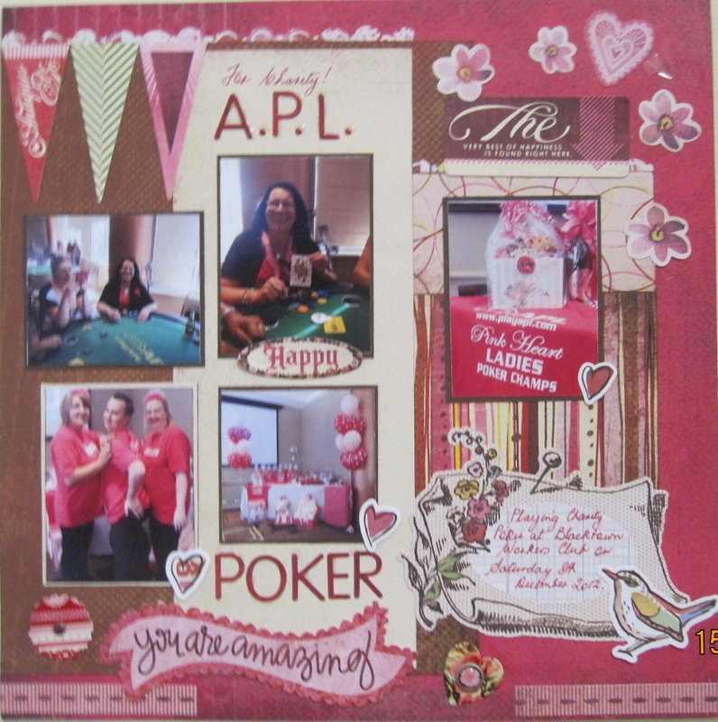 Charity APL Poker Day