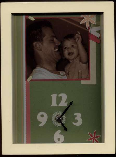 Making Memories Clock Kit - Father's Day