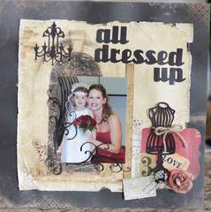 Scraps Of Darkness April Kit All Dressed Up