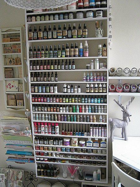 *my scraproom* paint rack