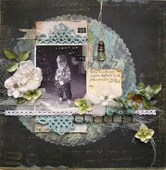 ***Swirlydoos Scrapbook Kit Club*** You light up my life