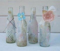 Shabby Bottles ***Swirlydoos Kit Club***