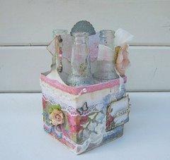 Shabby Bottle Tray ***Swirlydoos Kit Club***