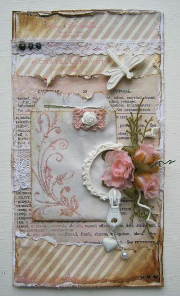 Sugar and sweet card ***Swirlydoos Kit Club***