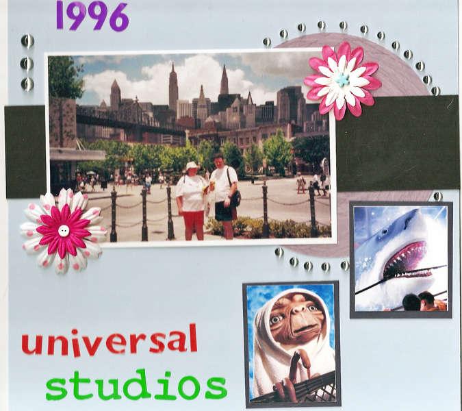 Universal Studios 1996