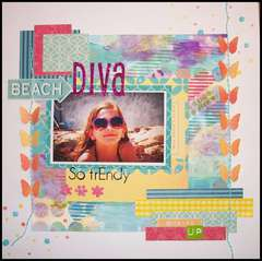 Beach Diva - Fashion Challenge