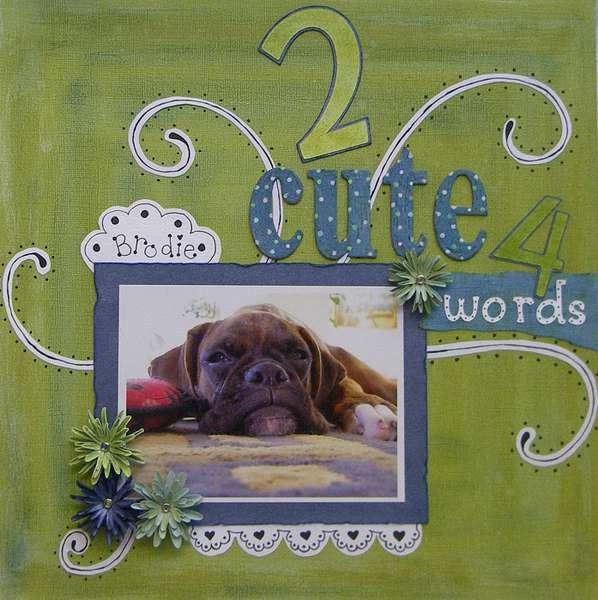 2 Cute 4 Words