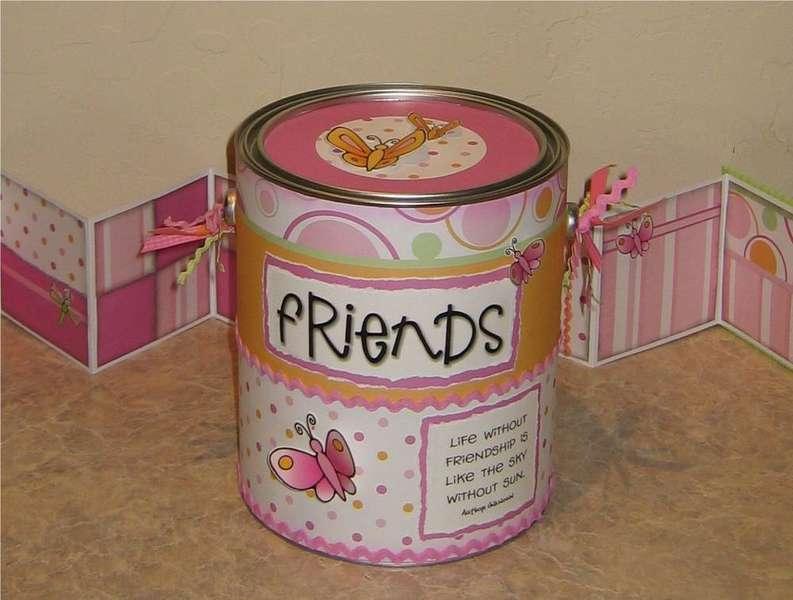 Friends Paint Can