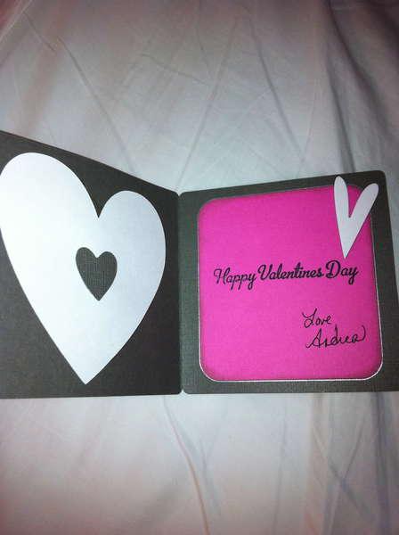 Valentine's Day Card inside 2011