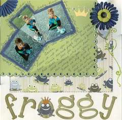 I WANT THE FROGGY