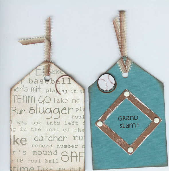 Baseball Tag for Sports Swap