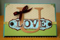 Love U card *Deja Views*
