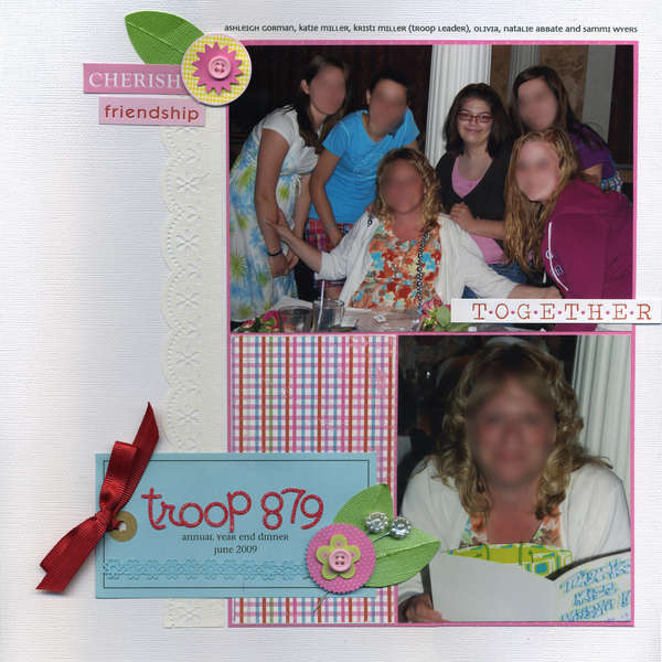 Troop 879 Year End Dinner *LYB Cupcake Love collection*