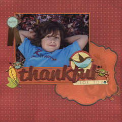 LYB 'Hello Fall' thankful for you layout