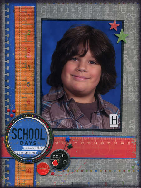 Harry 4th Grade *LYB Head of the Class collection*