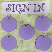 Circle Journal Sign In Pg. 1