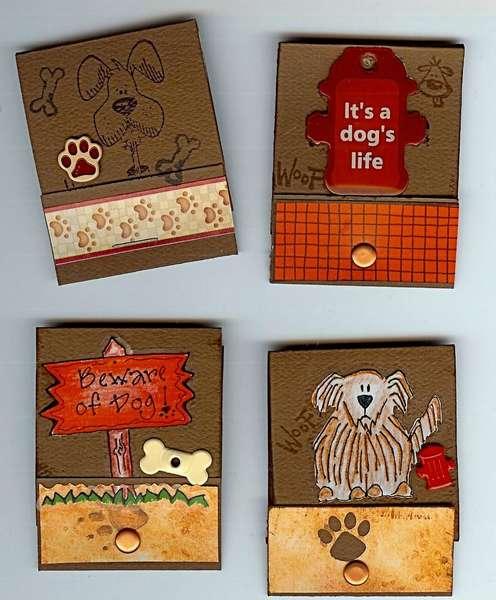 Dog Matchbooks