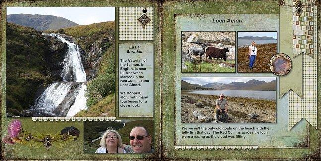 2014, Skye - Eas a Bhadrain (Waterfall of the Salmon) and Loch Ainort