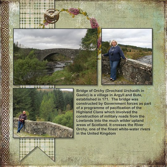 2014, Scotland, Bridge of Orchy