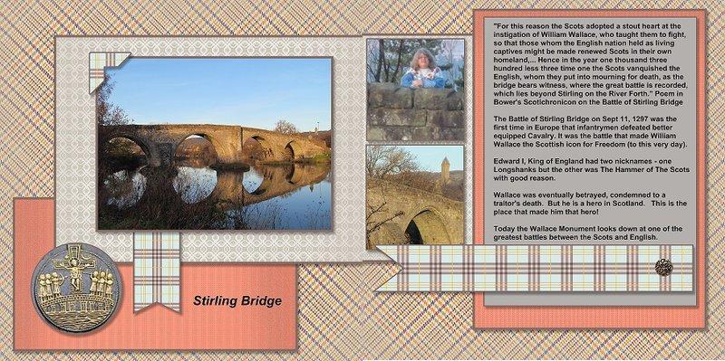 2013, Scotland, Stirling Bridge