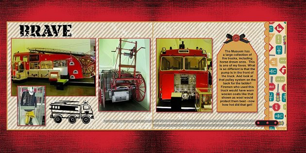 2014, Fire truck - April Page Maps - Sketch 1